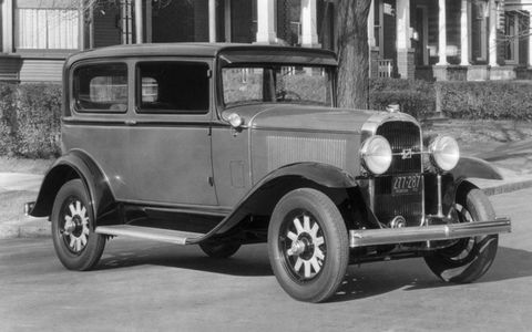 The Buick Series 50 got a bit more pep in 1931 thanks to a new eight-cylinder engine, which took the place of a six.