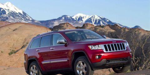 Driver's Log Gallery: 2011 Jeep Grand Cherokee