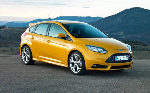 Every ST sold in North America will be the five-door hatch