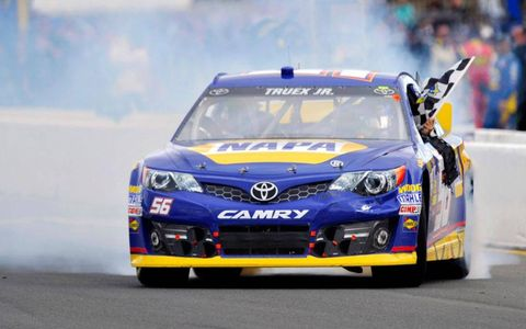 Martin Truex Jr. snapped a 218-race winless streak with his win at Sonoma on Sunday.