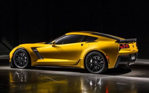 Chevy is apparently proud of the Z06's capability, which puts it in the same realm as the Ferrari FF and McLaren 650S. At least on paper.