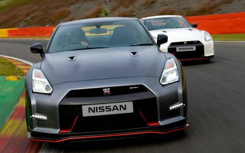 Think of the Nissan GT-R Nismo as the lineup's halo model.