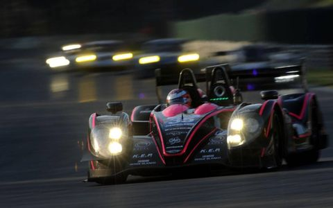 The OAK Racing Morgan-Nissan, piloted by Bertrand Baguette, Martin Plowman and Ricardo Gonzalez won in LMP2.
