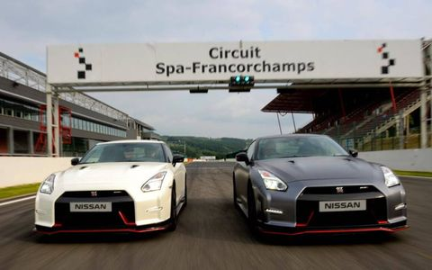 The GT-R Nismo has high-flow turbos similar to their GT3 race cars.