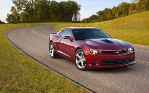 While in our fleet the 2014 Chevrolet Camaro 2SS Coupe managed to bring in 17.8 mpg combined fuel economy.