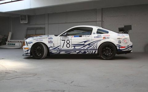 This 2008 GT500 makes about 550 hp at the wheels.