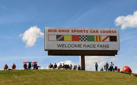 Beautiful weather greeted race fans Saturday morning