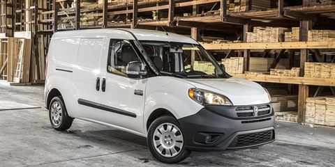The ProMaster City is based on the award-winning Fiat Doblo from Europe.