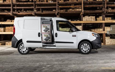 The ProMaster City is meant to be a smaller offering alongside the full-size ProMaster commercial panel van.