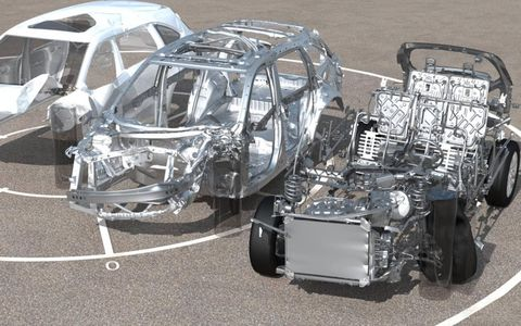 DeltaGen has the ability to removes different components of the vehicle during a simulated crash.