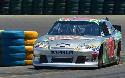 Dale Earnhardt Jr. finished 23rd at Sonoma.