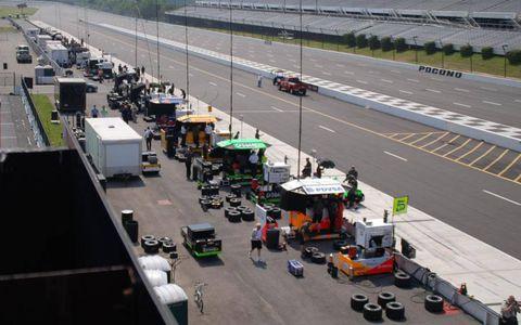 Pocono Raceway will host the IndyCar Series on July 7.