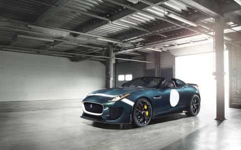 Jaguar will only build 250 examples of the F-Type Project 7