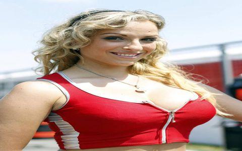Grid Girls from Circuit Gilles Villeneuve