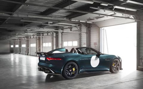 The Project 7 will be the most powerful road going Jaguar ever.
