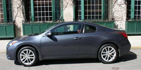 Driver's Log Gallery: 2010 Nissan Altima Coupe 3.5SR