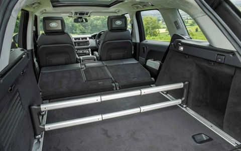 The cabin is just as luxurious as the standard Range Rover, although with better side bolsters