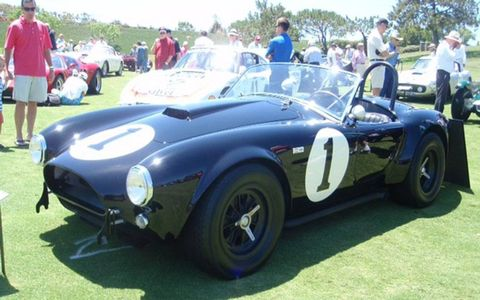 First production 1962 Cobra, owned by Bruce Meyer