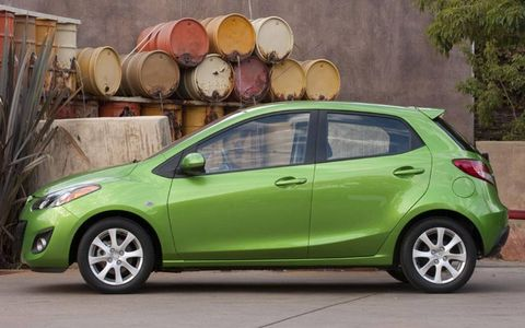 AW Flash Drive Gallery: 2011 Mazda 2
