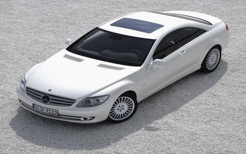 Mercedes-Benz has high hopes for its premium CL coupe but plans production of only about 10,000 units annually. Based on the S-class sedan, the CL is traditionally the most expensive and technologically advanced Mercedes. Its base price in Europe will be about $134,000; the U.S. price has not been revealed. The CL goes on sale in the United States after its debut at the Paris auto show in September.