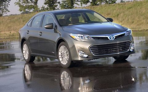 The big news for the 2013 Avalon is the addition of Toyota's Hybrid Synergy Drive system