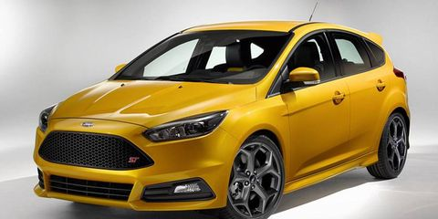 Ford has lightly redesigned the ST for the 2015 model year.