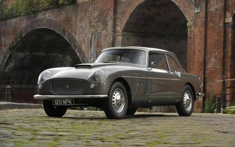 This one of five remaining Zagato-bodied sports saloons will be offered at Goodwood this week.