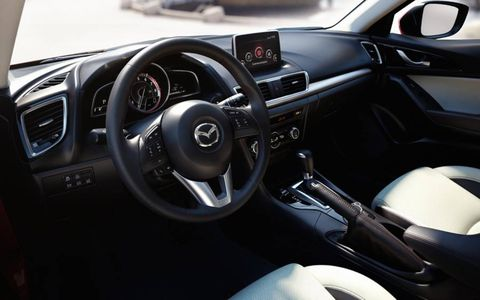 The 2014 Mazda 3 is available with an optional Bose speaker system to enhance your listening experience.