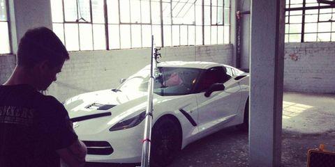 2014 C7 Chevrolet Corvette Stingray Photo Shoot