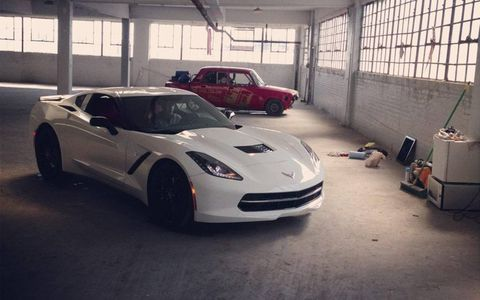 2014 C7 Chevrolet Corvette Stingray Photo Shoot