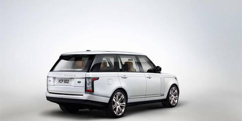 The 2014 Land Rover Range Rover Autobiography LWB receives an EPA-estimated 16 mpg combined fuel economy.