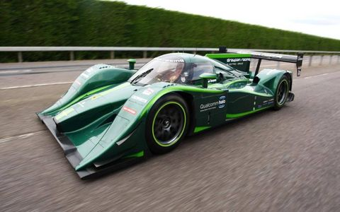 The Lola Drayson B12 69/EV broke the electric land speed record on Tuesday.