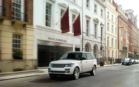 The 2014 Land Rover Range Rover Autobiography LWB.