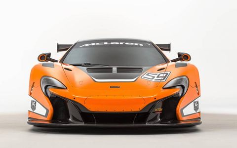McLaren unveiled the 650S GT3 at the 2014 Goodwood Festival of Speed.