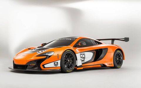 The 650S GT3 builds on the reputation created by the 12C GT3's 51 race victories.