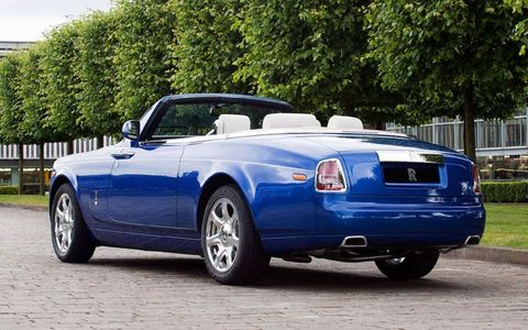 The Rolls-Royce in its natural habitat