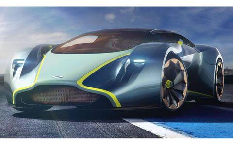 """Aston Martin's DP-100 Vision Gran Turismo for """"Gran Turismo 6""""."""