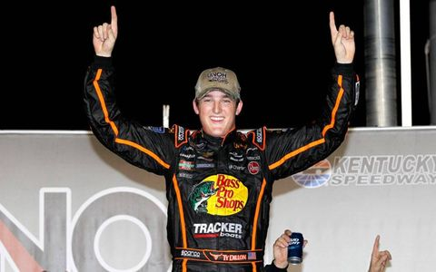 Ty Dillon is the grandson of NASCAR icon Richard Childress.