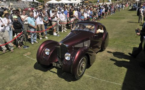 This 1931 Bugatti Type 51 Dubos was named Best in Show at the 2011 Dana Point Concours d'Elegance.