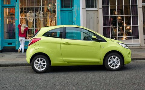 The Ka is based on the Fiat 500 platform, and is built alongside the 500 and the Lancia Ypsilon in Poland.