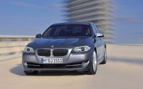 The eight-speed automatic certainly helps in getting at all of 528i's available power