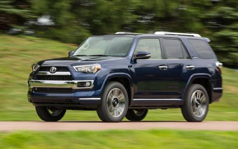 The 2014 Toyota 4Runner Limited comes in at a base price of $44,260 with our tester ringing in at $46,380.