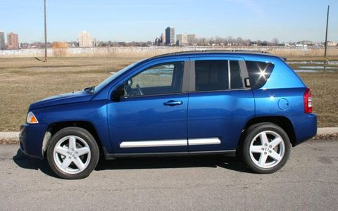 Driver's Log Gallery: 2010 Jeep Compass Limited
