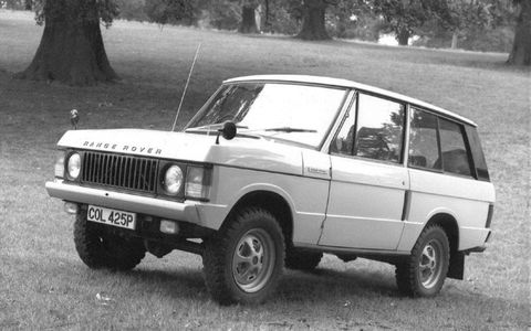 Charles Spencer King was considered the father of the Range Rover