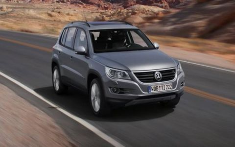Thanks to its Golf heritage, the Tiguan's handling resembles that of a well-sorted hatchback, not an SUV.