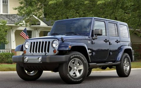The Jeep Wrangler Freedom edition gets a handful of convenient standard features.