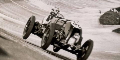 """This 1929 4.5-liter Bentley """"Blower"""" sold for $7 million at Bonham's Goodwood Festival of Speed auction."""
