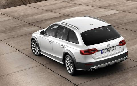 You get a commanding view of the road, yet in overall on-road ability, the A4 Allroad is virtually indistinguishable from the lower-set A4 Avant.