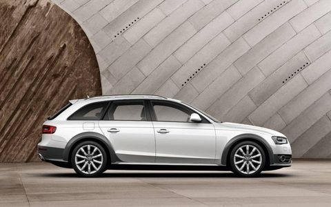 Based on the A4 Avant, which the All-road will replace in the U.S. market, the new Audi has an added 1.5 inches of ride height for a total of 7.1 inches of ground clearance (just shy of the more rugged Q5), and an overall 2.3-inch taller profile compared with the A4 wagon.