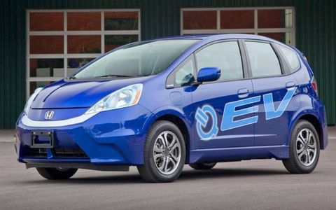The Honda Fit EV will be available starting July 20 on a lease-only basis.